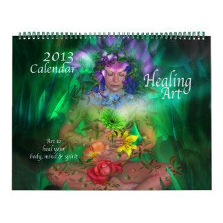 Healing Art Calendar 2013