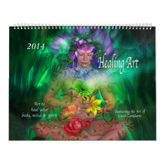 Healing Art Calendar 2014