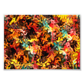 Healing Arts 5.45 Modern Art Abstract Photo Print