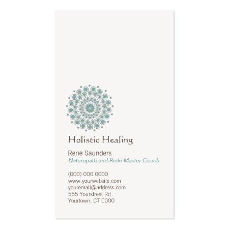 Natural Healing Circle Business Cards