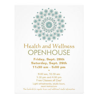 Healing Arts and Natural Health and Wellness Flyer