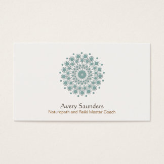 Healing Arts, Health and Welless Business Card