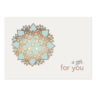 Healing Arts Lotus Gift Certificate Large Business Card