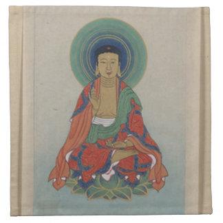 Healing Buddha napkin