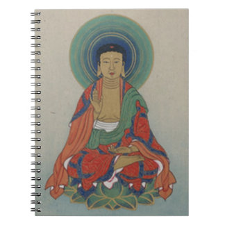 Healing Buddha notebook