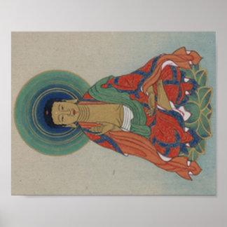 Healing Buddha poster