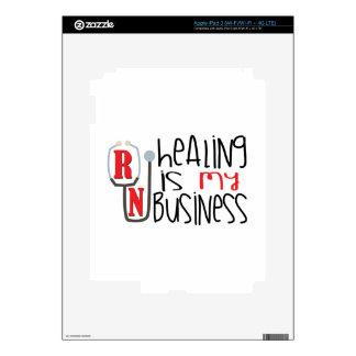 Healing Business iPad 3 Decals