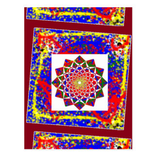 Healing CHAKRA : High Energy Art Boundryless Postcard