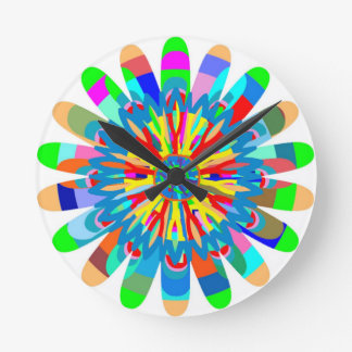 Healing Color Energy: Inspiration from SunFlower Round Wallclocks