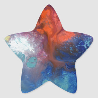 Healing Energies canvas number 3 Star Sticker