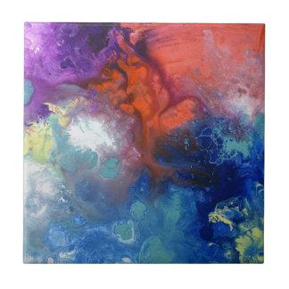 Healing Energies canvas number 3 Ceramic Tiles