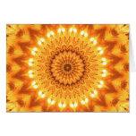 Healing Energy Sunny Mandala Card
