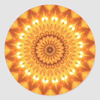 Healing Energy Sunny Mandala Stickers - TBA