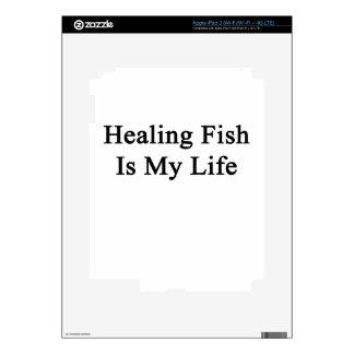 Healing Fish Is My Life iPad 3 Skin
