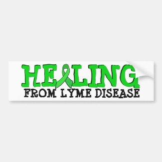 Healing from Lyme disease bumper Sticker
