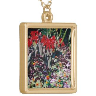 Healing Garden Gold Plated Necklace