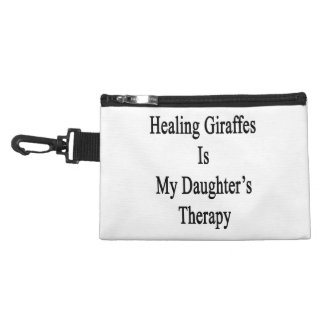 Healing Giraffes Is My Daughter's Therapy Accessories Bag