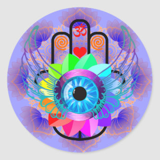 Healing Hamsa sticker