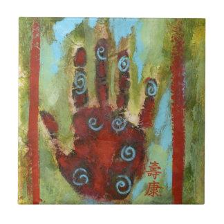 healing hand 8 tile