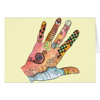 Healing Hand Card