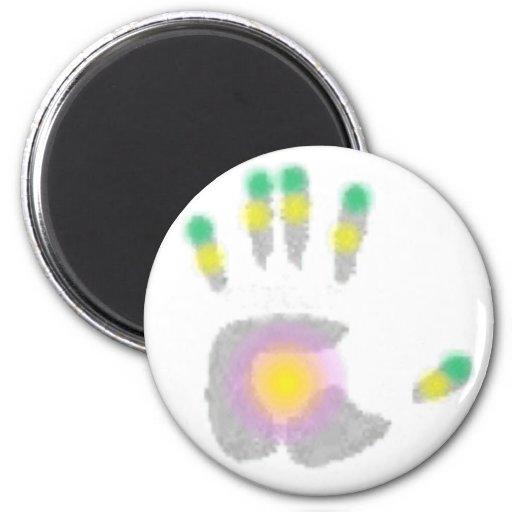 Healing Hand Fridge Magnet