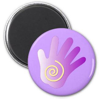 Healing Hand - Purple Magnet