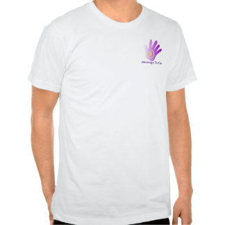 Healing Hand - Purple Shirt