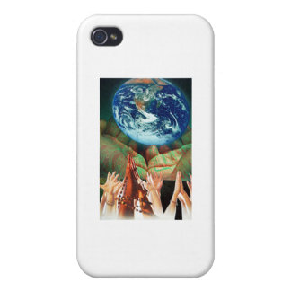 Healing Hands iPhone 4 Covers