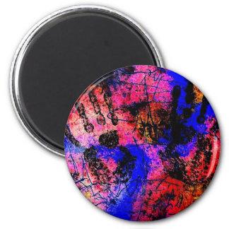 Healing Hands 2 Inch Round Magnet