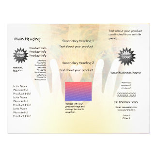 Healing Hands Massage Flyer