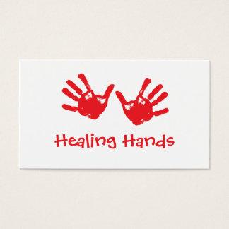 Healing Hands Massage - Reiki Business Card