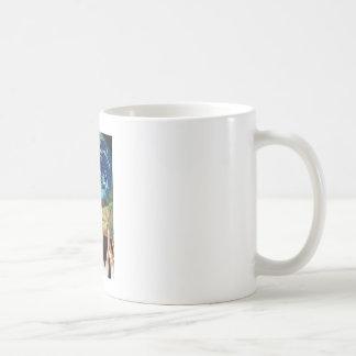 Healing Hands Classic White Coffee Mug