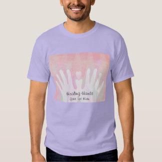 Healing Hands Pink T-shirt