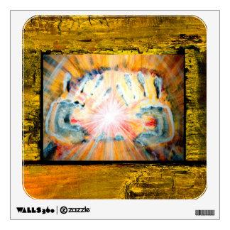 Healing Hands Wall Decal