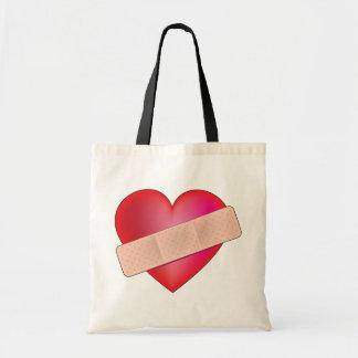 Healing Heart Budget Tote Bag