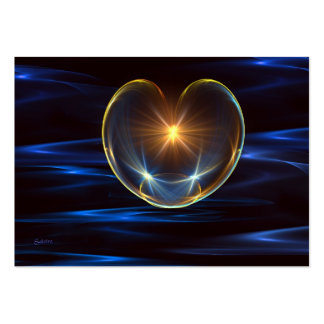 Healing Heart Large Business Cards (Pack Of 100)