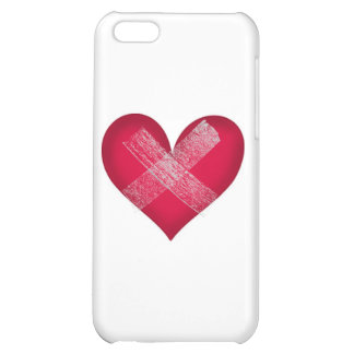 Healing Heart with Bandage Customize I Case For iPhone 5C
