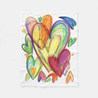 Healing Hearts Chemo Blanket