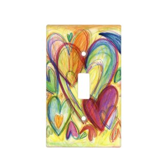 Healing Hearts Light Switch Cover