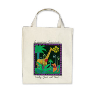 Healing Hearts With Words Tote Bags