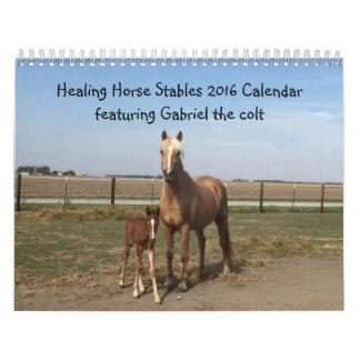 Healing Horse Stables 2016 Calendar