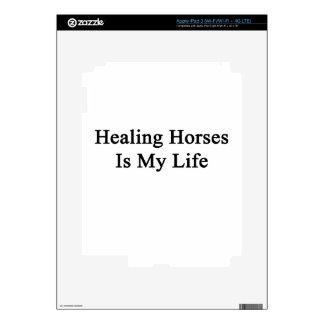 Healing Horses Is My Life iPad 3 Decal