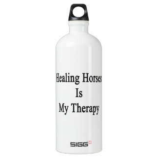 Healing Horses Is My Therapy SIGG Traveler 1.0L Water Bottle