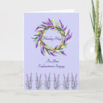 Healing Hugs Card for Endometriosis Surgery