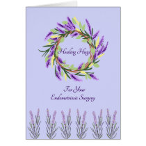 Healing Hugs Card for Endometriosis Surgery