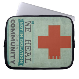 Healing in Community Laptop Sleeve