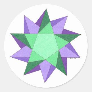 Healing in Motion Round Sticker