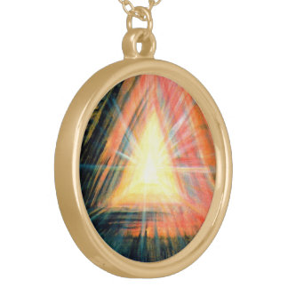 Healing Light Gold Plated Necklace
