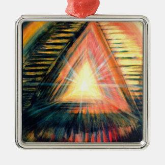 Healing Light Metal Ornament