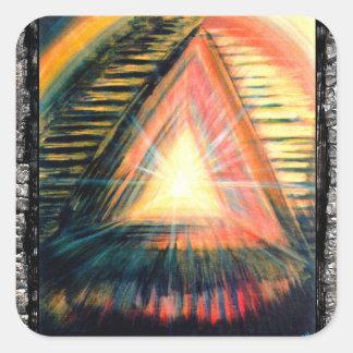 Healing Light Square Sticker